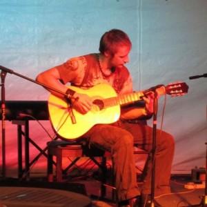 BALSTOCK 2011 - Eddie doing flamenco at The Orange Tree