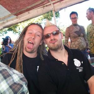 BALSTOCK 2011 -  After Dark's Chris Strong & G