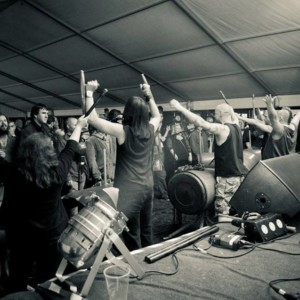 BALSTOCK 2014 - Jesus Hooligan at the Engine